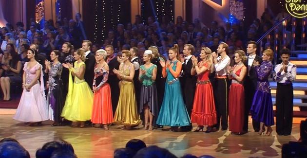 Tančí s hvězdami páry z roku 2015