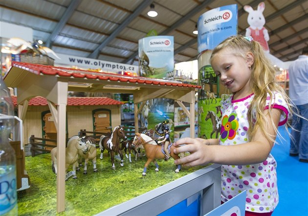 obrazem veletrh hraček for toys v pražských letňanech alíkoviny